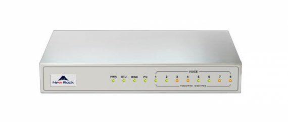 MX8g-8fxo نیوراک 8fxo گتوی دارای 8 پورت fxo می باشد.